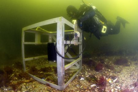 Static Underwater Radar
